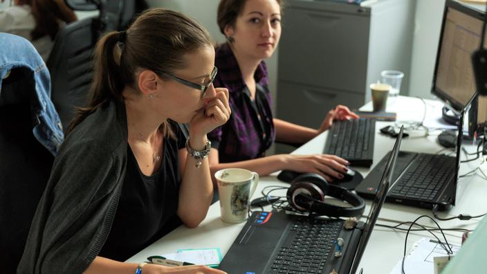 © 2017 - Team Extension - Support Team at work - Bucharest, Romania