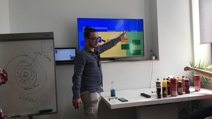 © 2017 - Team Extension - Senior Android Developer during Training Session - Bucharest, Romania