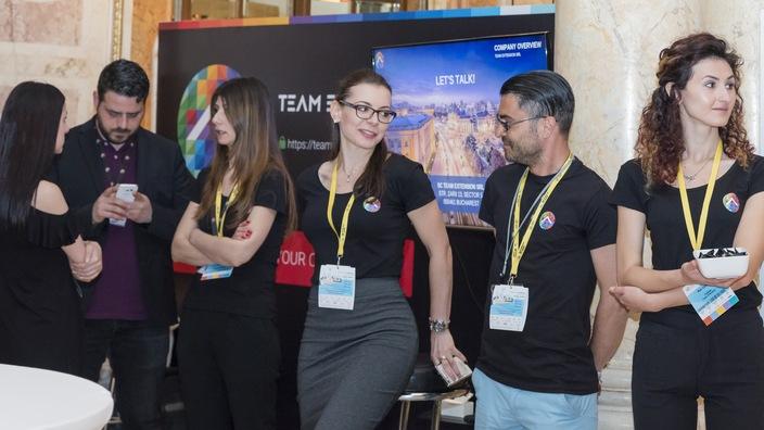 © 2017 - Team Extension - Team attending Bucharest Technology Week Event - Bucharest, Romania